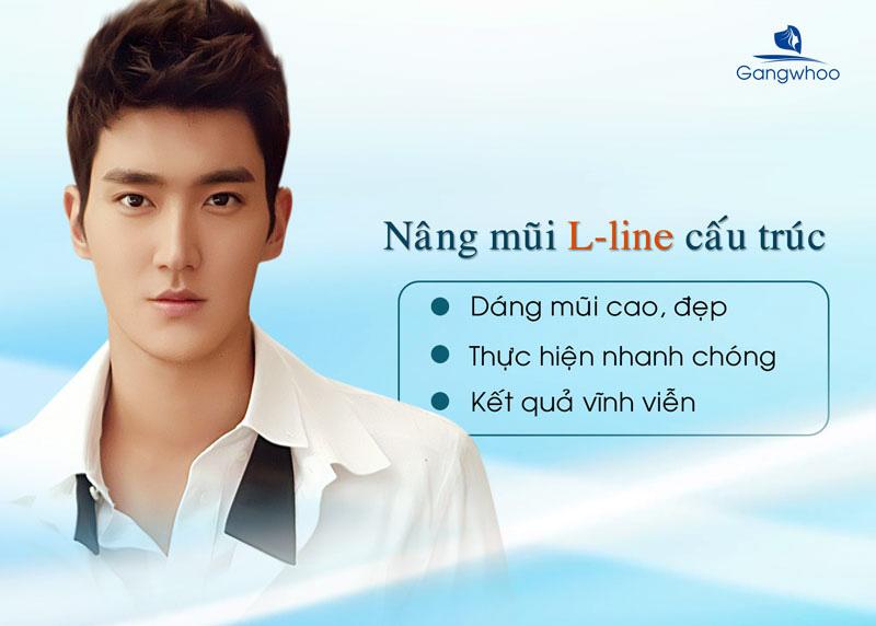 Sửa mũi nam giới dáng L-line khẳng định đẳng cấp